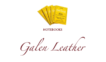 Galen Leather notebook