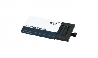 Montblanc Midnight blue cartridges