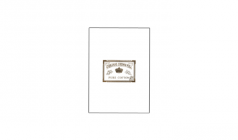 Cotton A5 writing pad 40125 * Original Crown Mill