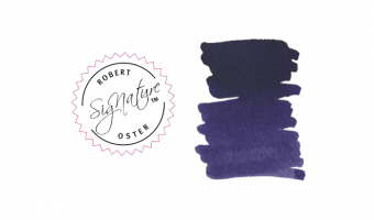Deep Purple * Robert Oster Signature ink