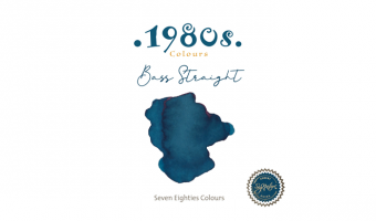 1980's Bass Straight * Robert Oster Signature ink