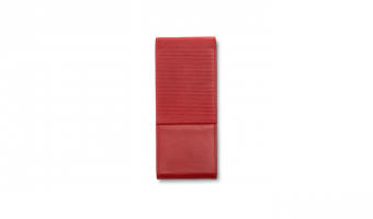 Lamy pen holder in red leather for 3 pens