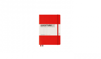 Notitieboek Medium A5 * Red * Leuchtturm 1917
