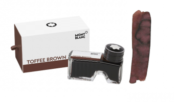 Montblanc Toffee Brown ink bottle * Montblanc