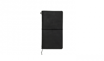 Traveler's Notebook Regular Black * Traveler's Company Japan