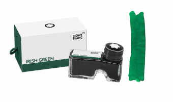 Montblanc Irish Green ink bottle