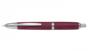 Capless Wood Red * Pilot