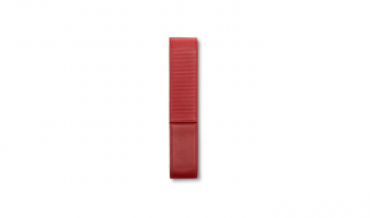 Lamy pen holder in red leather for 1 pen