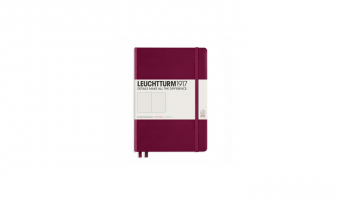 Notebook Medium A5 * Port * Leuchtturm 1917