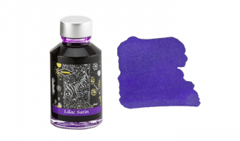 Lilac Satin shimmer ink * Diamine