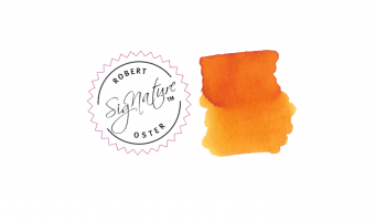 Peach * Robert Oster Signature ink