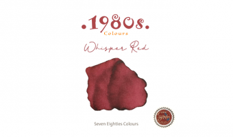 1980's Whisper Red * Robert Oster Signature ink