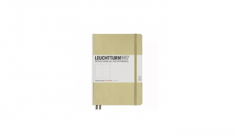 Notitieboek Medium A5 * Sand * Leuchtturm 1917