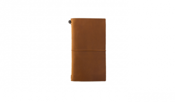 Traveler's Notebook Camel Regular * Traveler's Company Japan
