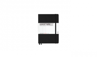 Notitieboek Medium A5 * Black * Leuchtturm 1917