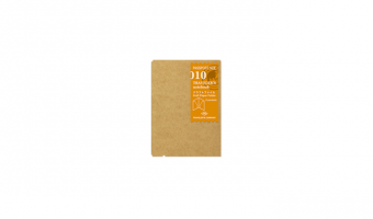 010 - kraft paper folder * Passport * Traveler's Company Japan