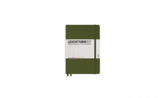 Notitieboek Medium A5 * Army green * Leuchtturm 1917