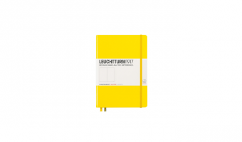 Notitieboek Medium A5 * Lemon * Leuchtturm 1917