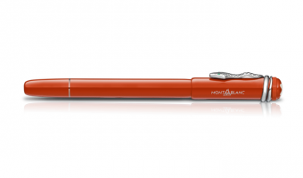 Heritage Collection 'Rouge & Noir' , Coral rollerball * Montblanc