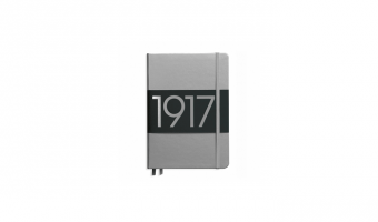 Silver Metallic Edition Medium notebook A5 * Leuchtturm 1917