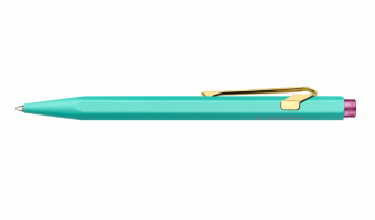849 Turquoise Claim Your Style balpen * Caran D'Ache