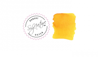 Yellow Sunrise * Robert Oster Signature ink