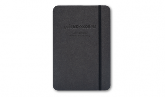 85gr/SP/plain/120pag/A5 notebook with elastic * goodINKpressions