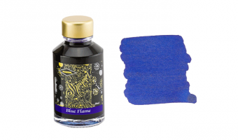 Blue Flame shimmer ink * Diamine