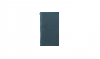 Traveler's Notebook Regular Blauw * Traveler's Company Japan