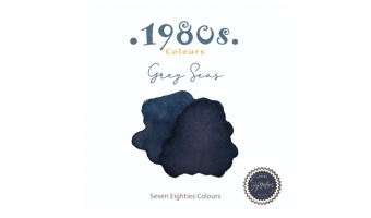 1980's Grey Seas * Robert Oster Signature ink