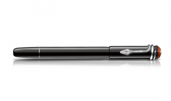 Heritage Collection 'Rouge & Noir' , Black rollerball * Montblanc