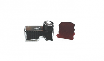 Montblanc Toffee Brown ink bottle