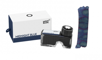 Montblanc Midnight Blue ink bottle * Montblanc