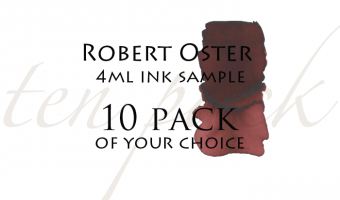 Robert Oster Signature 4 ml ink samples * 10 pack