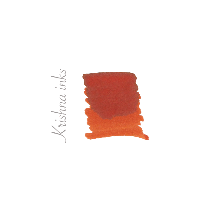 Krishna Halloween Orange LE Super Rich ink * Krishna inks