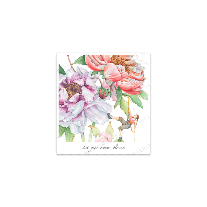 FW02. Let your dreams blossom * Wishingwell * gift card