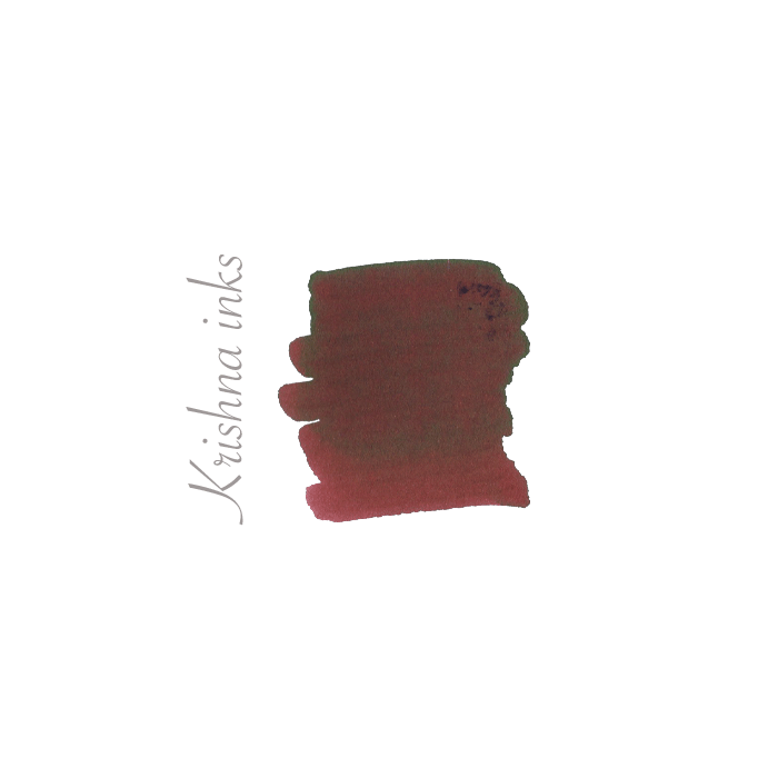 Krishna Brown Pink Super Rich ink * Krishna inks