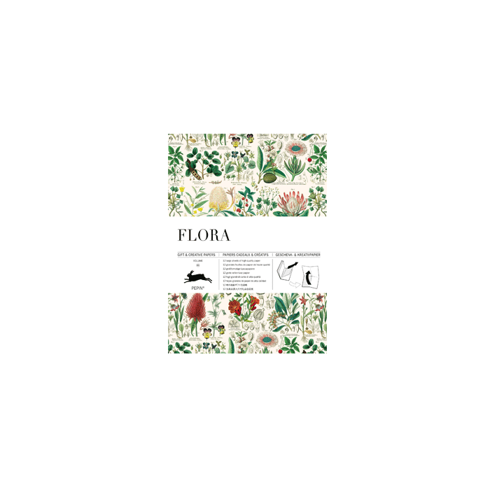 Flora * Creative papers * The Pepin Press