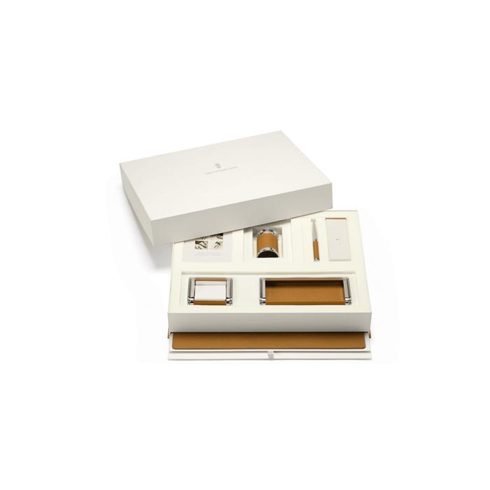 graf von faber castell bureau set cognac. Black Bedroom Furniture Sets. Home Design Ideas